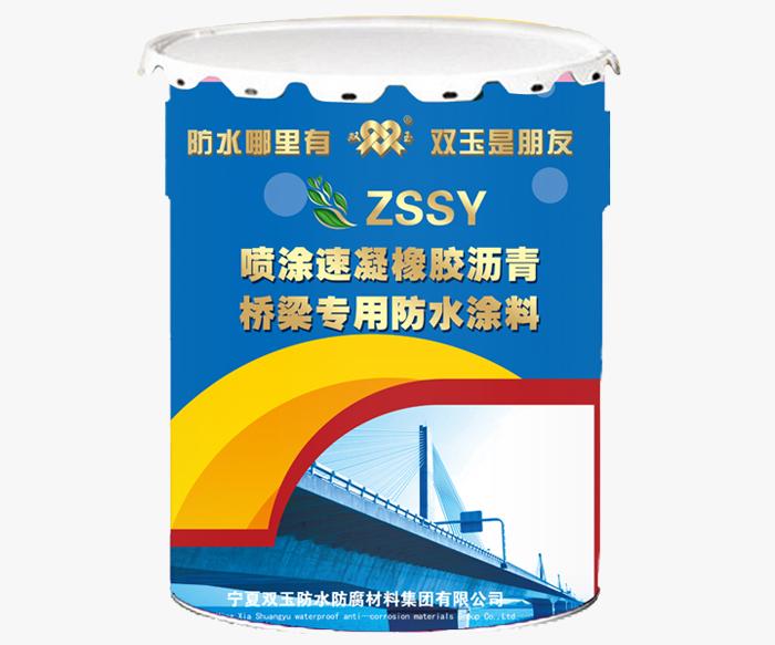 桥梁专用必威体育官网手机登录涂料-ZSSY喷涂速凝
